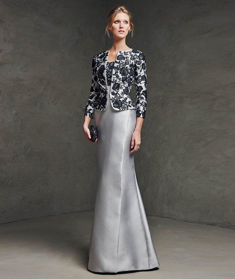 Vestidos elegantes con corte sirena para asistir a bodas ...