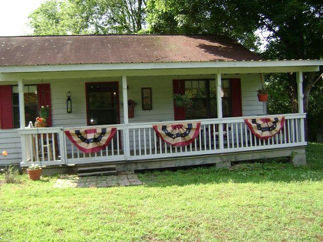 Primitive Porches | Porches And Patios ( PLUS FREE FEED SACK PRINTABLE )