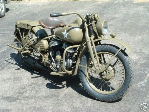 Top 10 Coolest Vintage American Motorcycles Harley Davidson Wla