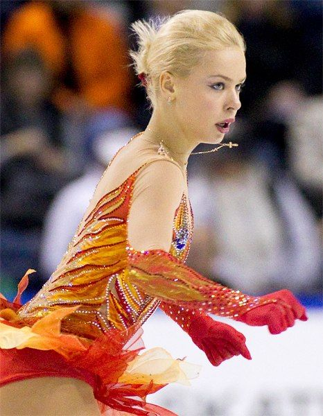 Russia's Anna Pogorilaya won the gold medal at Skate Canada 2014