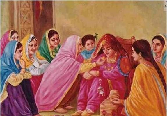 Old Punjabi Culture : ...