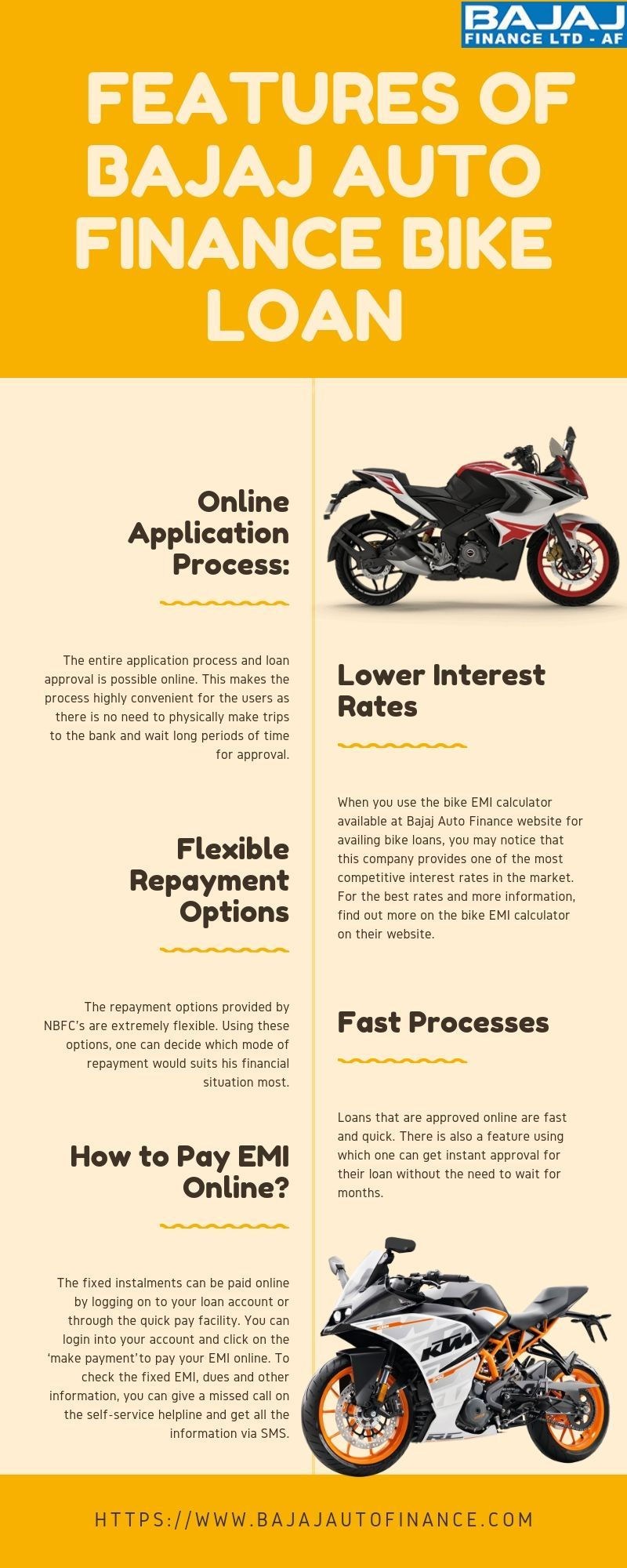 There Are Two Types Of Loans Offered By Bajaj Auto Finance Bike