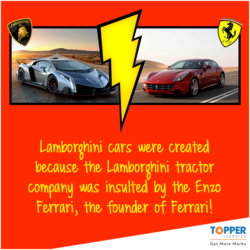 didyouknow lamborghini cars were created because the lamborghini tractor company was insulted by the