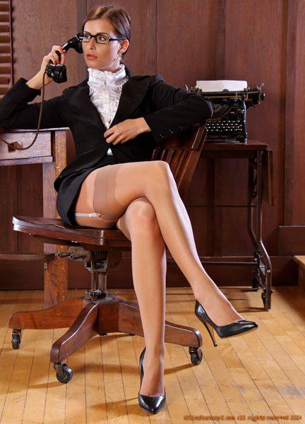 Stocking seduction