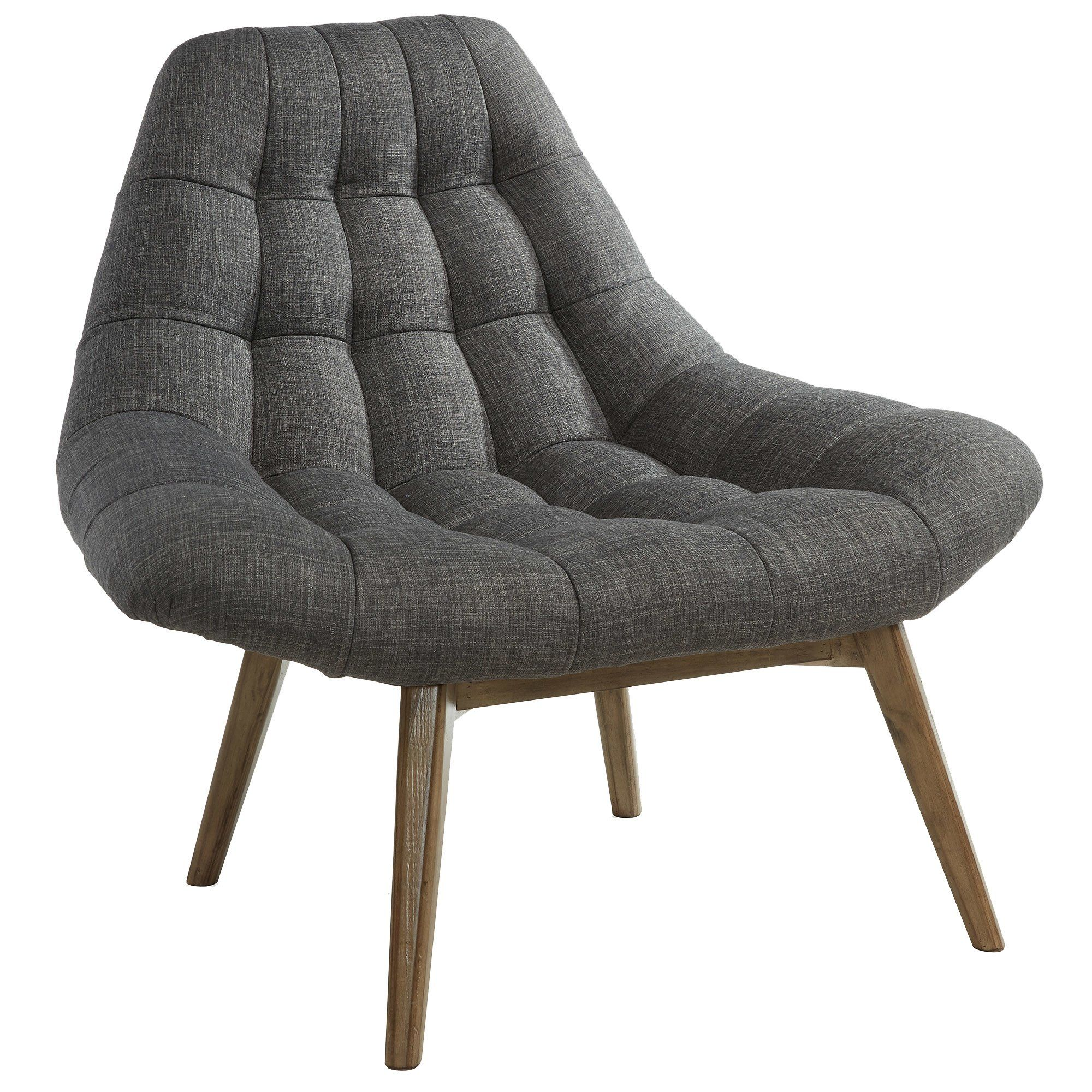Customer Image Zoomed Fabric lounge chair, Fabric accent