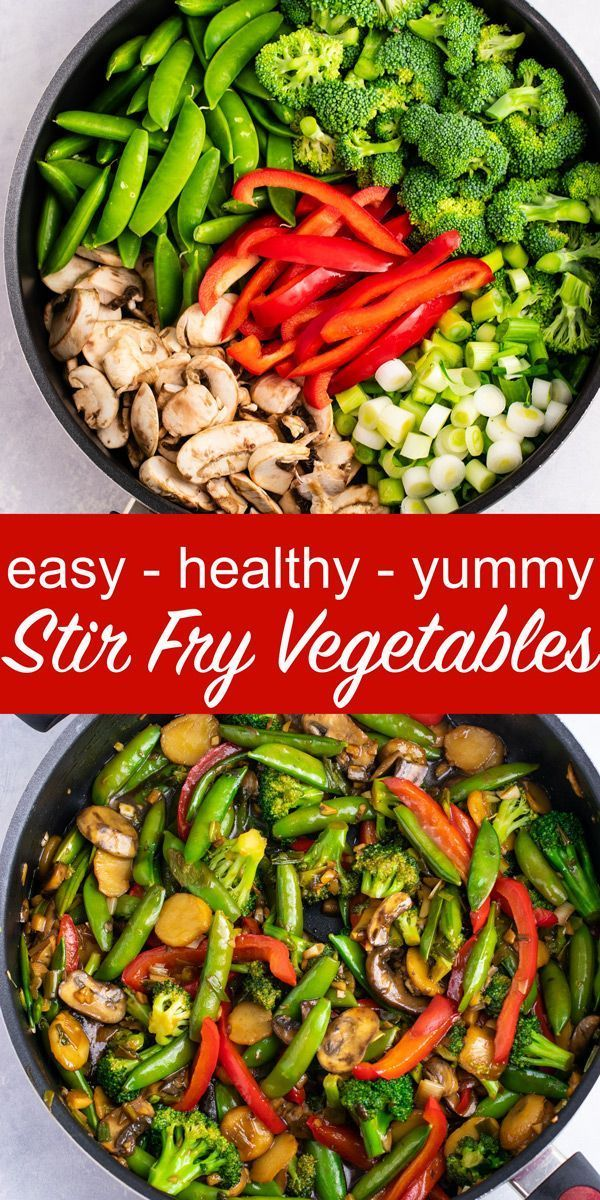 Easy takeout style stir fry vegetables  healthy dinner never tasted so good