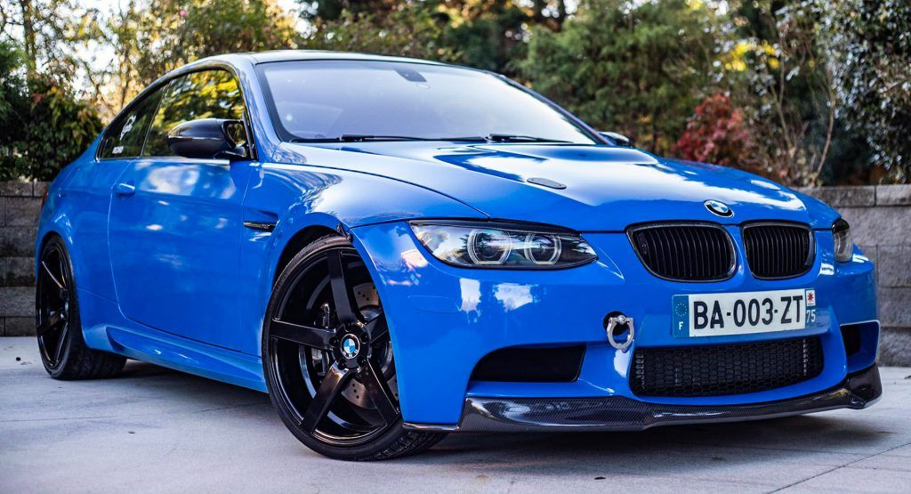 Supercharged 2011 Bmw M3 Competition Is A Blue Gem If Aftermarket
