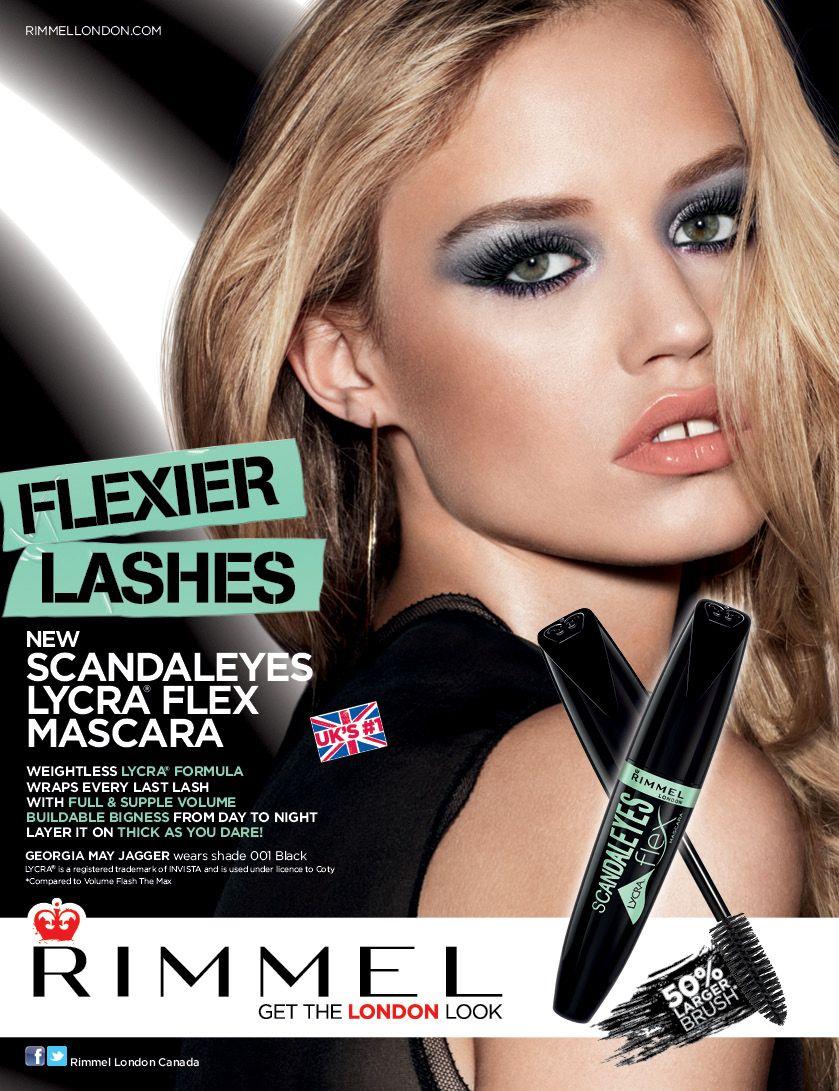 46514067ce6 Rimmel's ScandalEyes Lycra Flex Mascara | Rose VoxBox | Beauty ad ...