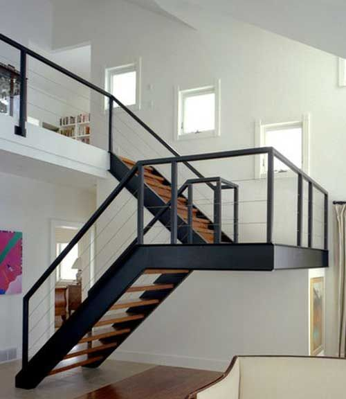 pasamanos barandillas escalera moderna herreria moderna puertas modernas detalles belinda cielo