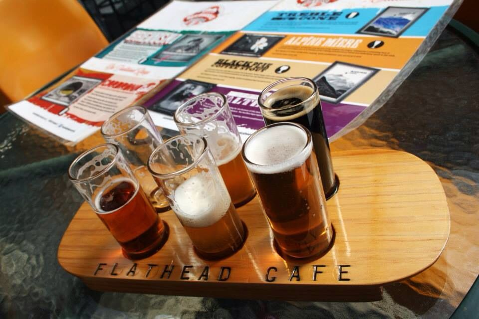 Beer tasting near Wanaka