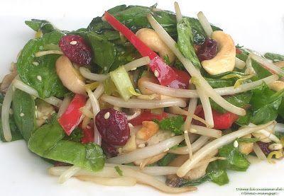 Dans la cuisine de Blanc-manger: Salade d'amour