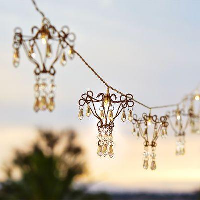 Chandelier led string lights 25 independent living pinterest chandelier led string lights 25 aloadofball Image collections