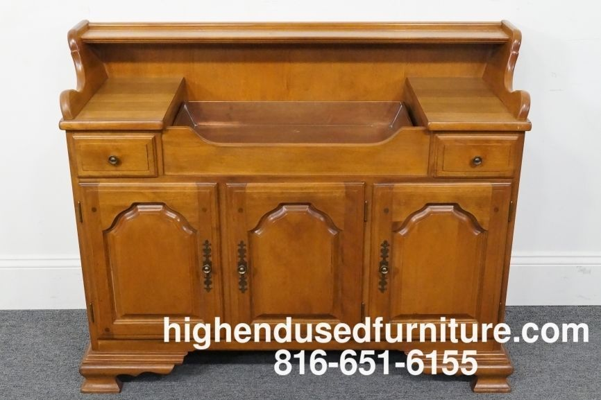 Temple Stuart Rockport Early American Rock Maple 46 Quot Dry Sink 1710 Dry Sink Maple Furniture Sink
