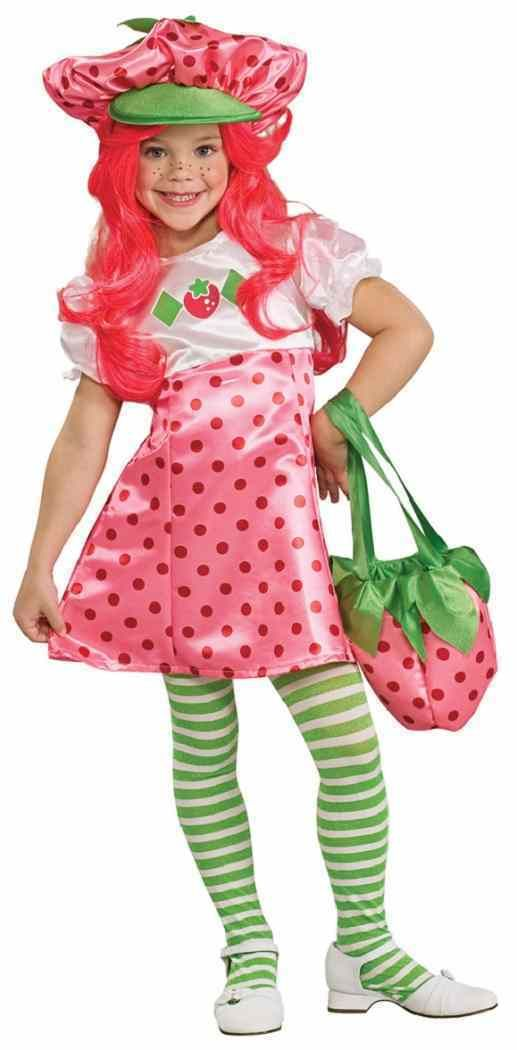 839839f31ee4 Strawberry Shortcake Pink Fancy Dress Up Halloween Deluxe Toddler ...
