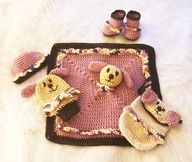408 Baby Shower Gifts to Crochet with instructional video by Sandy ...