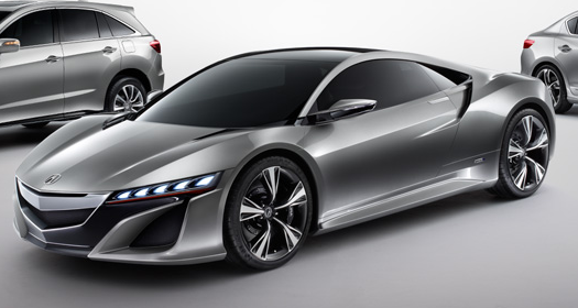 Acura NSX Concept Is A REALLY Sexy Car Future Transportation - Really hot cars