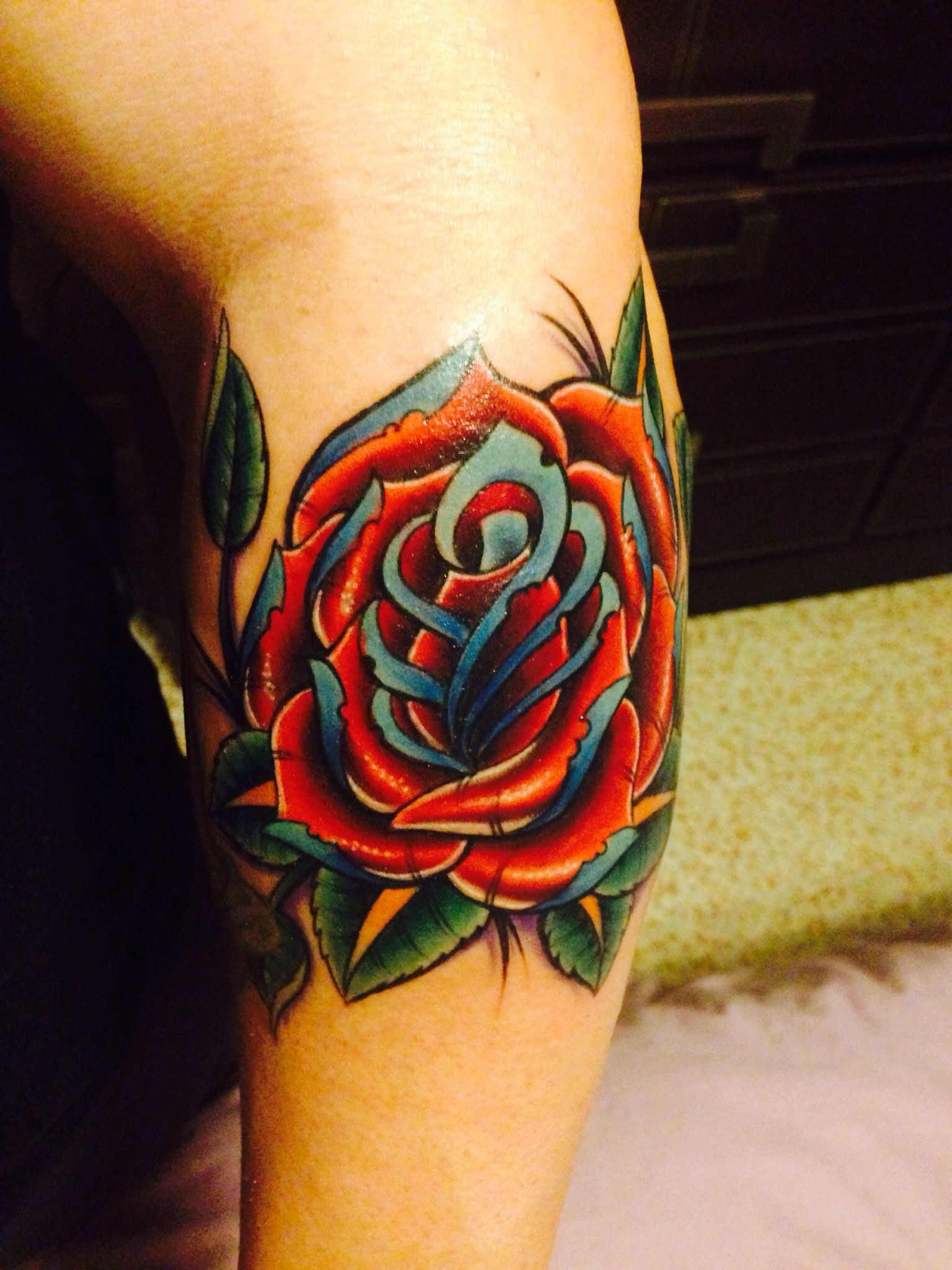 Neo traditional rose | Tattoos | Pinterest | Traditional ...