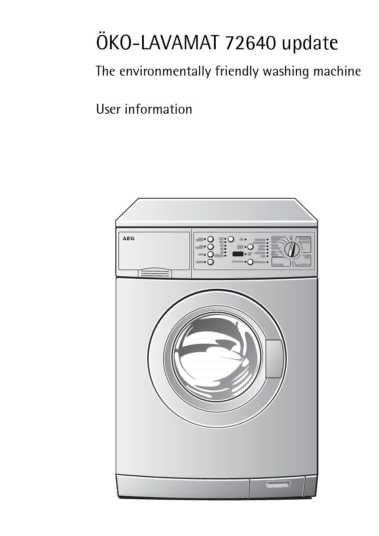 aeg l72640 l72640 pnc 914002408 manual aeg oko lavamat rh pinterest ie aeg electrolux washer dryer manual aeg electrolux washer dryer manual