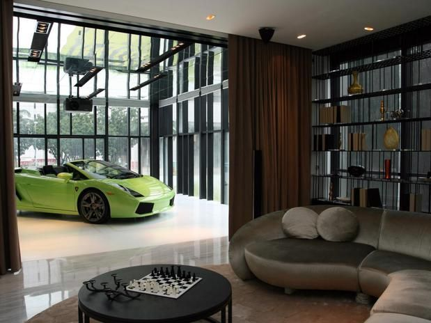 Stylish home: Luxury garage designs - photos and ideas | House ...