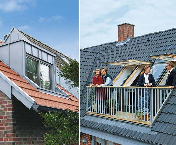 Dachfenster nachträglich einbauen  Sie wollen eine Dachloggia nachträglich einbauen? Bauen.de erklärt ...