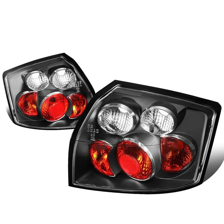 D Motoring 02 05 Audi A4 Quattro S4 Tail Lights Black Housing Clear Lens Plug N Play Pair Audi A4 Audi Audi A4 Quattro