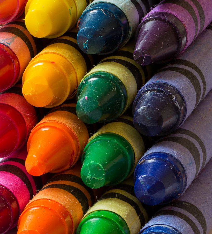 Favours: Crayons