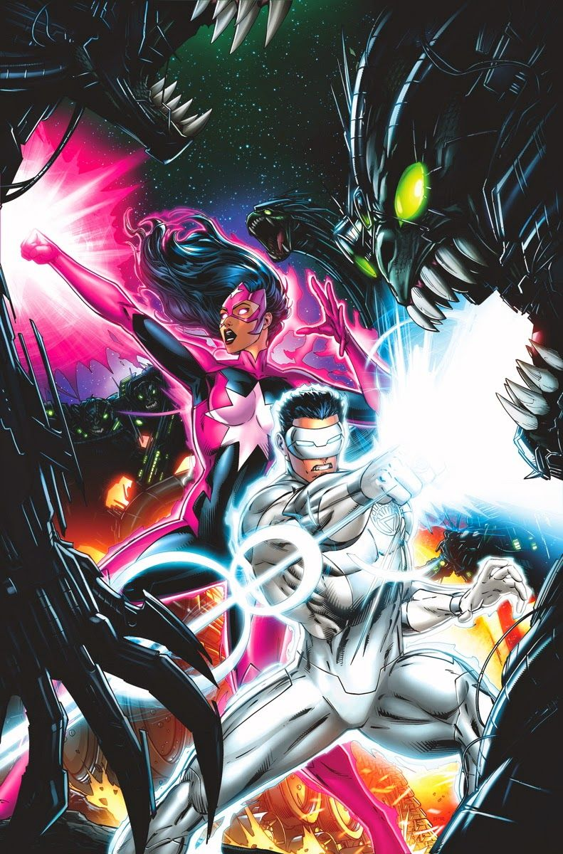 Kyle Rayner New Guardians