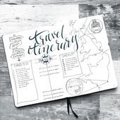 Going On Holiday? Here's How To Document And Plan Your Adventures In Your Bullet Journal!,  #Adventures #Bullet #Document #heres #Holiday #Journal #plan