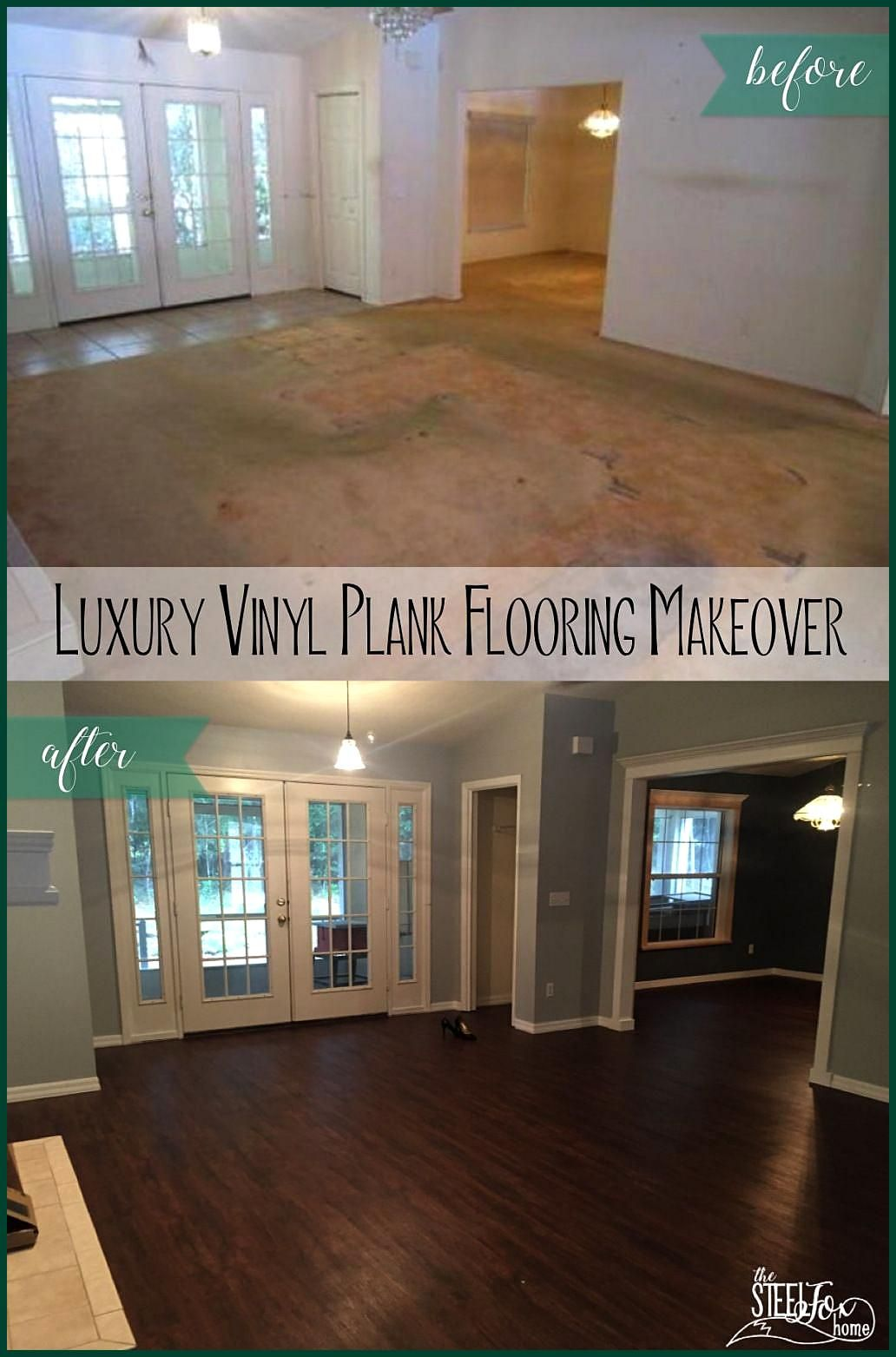 Luxury Vinyl Plank Wood Flooring whole house makeover Why