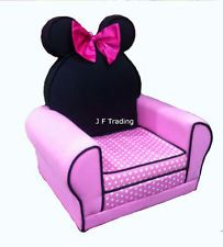 Disney Minnie Mouse Upholstered Arm Chair Sofa Children Kids