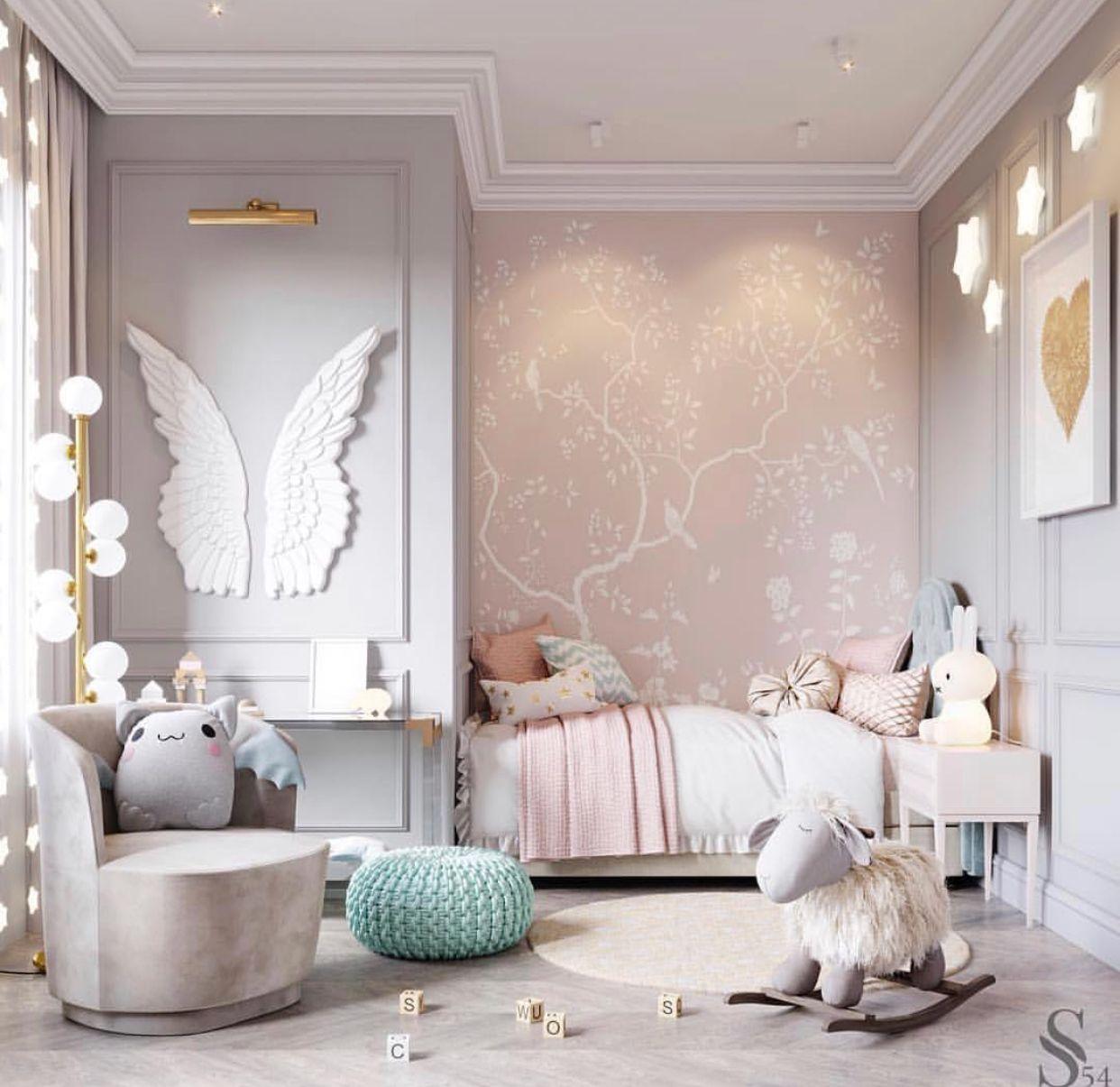 Studia 54 Girls bedroom Wallpaper | INTERIOR in 2019 | Girl ...