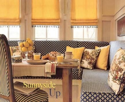 Banquette Seating Kitchen | Built In Kitchen Seating | Atticmag | Kitchens, Bathrooms, Interior ...