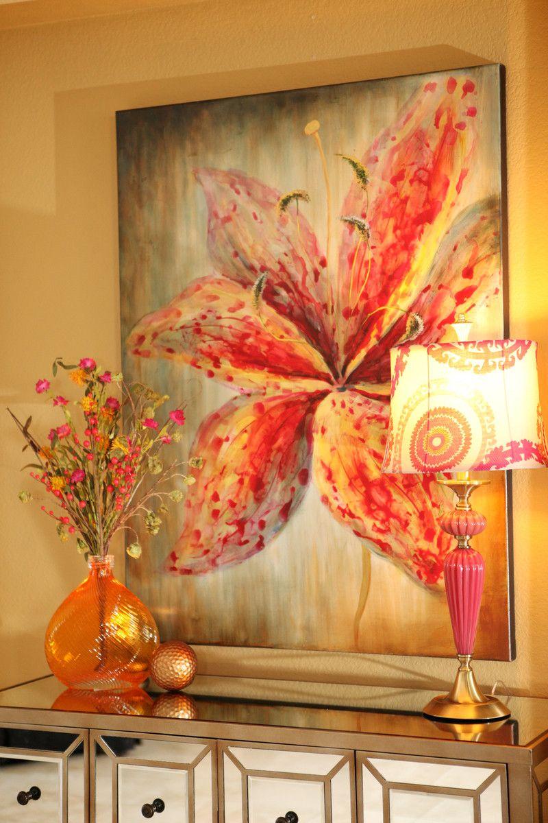 Spring into color entry flores cuadros de flores - Cuadros modernos ...