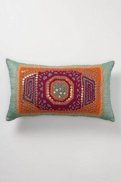 Gather & Glean Pillow, Rectangle - eclectic - pillows - Anthropologie
