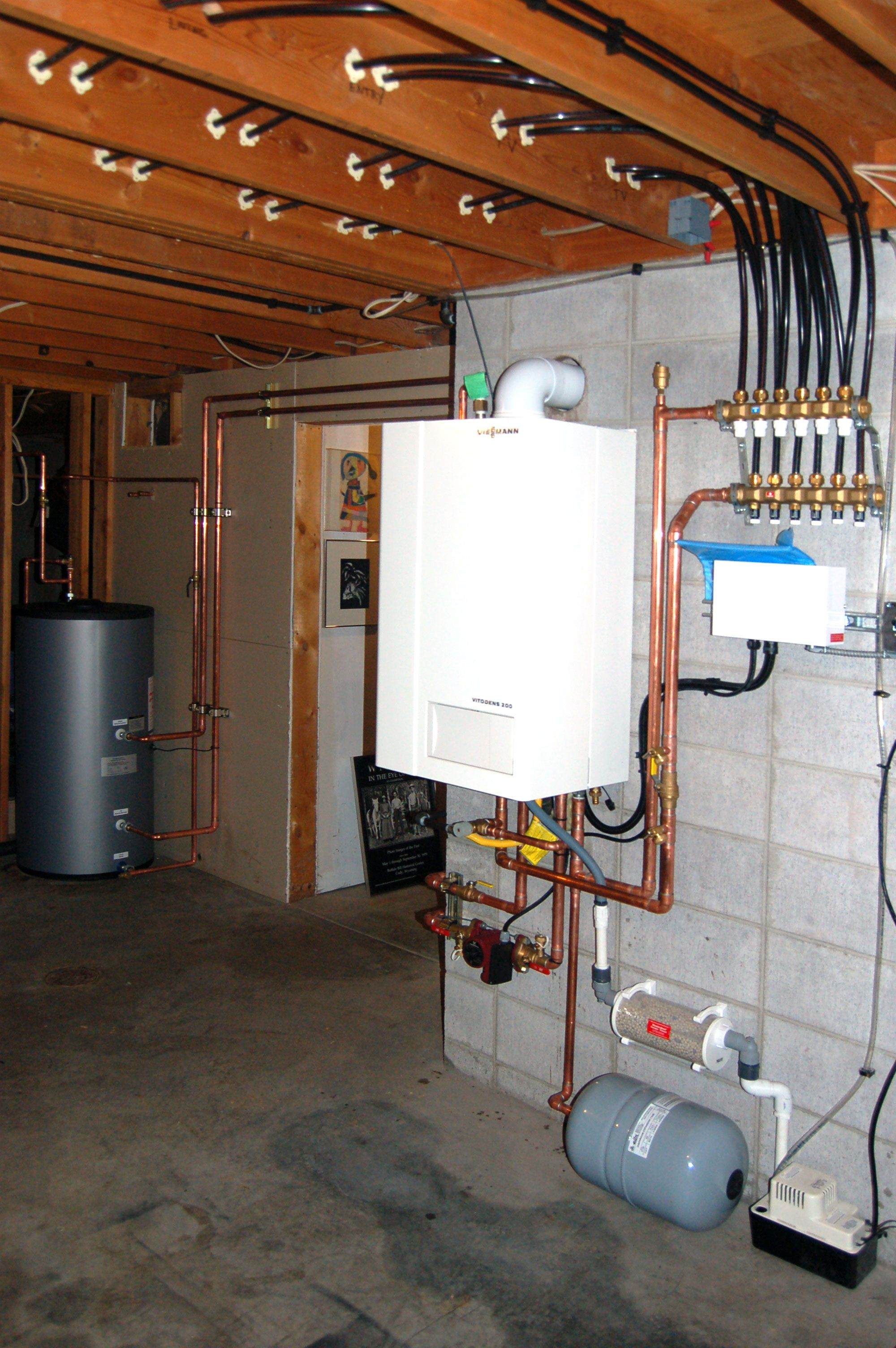 This Home Owner Upgraded To A Viessmann He Chose Panel