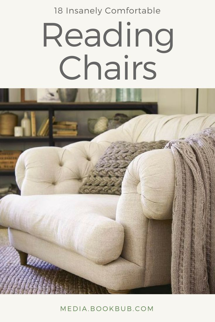 comfy reading chairs  18 Insanely Comfortable Reading Chairs Every Bookworm Needs to See ...