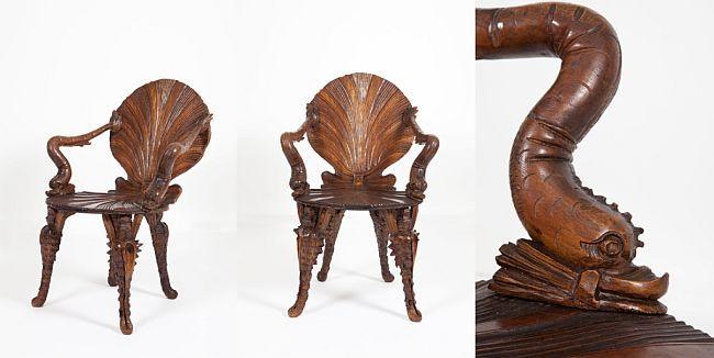 Venetian Grotto Chair