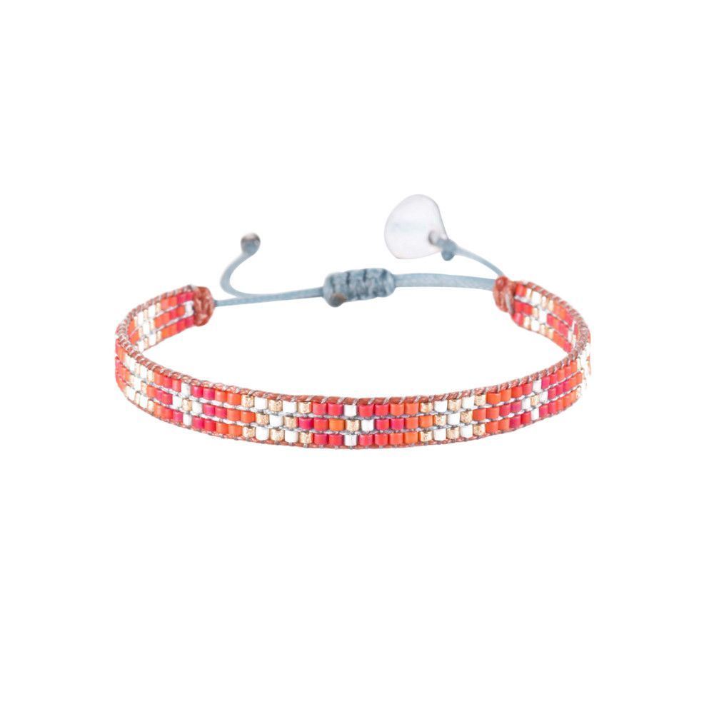 Beaded bracelet utracku by mishkysmall girls camp