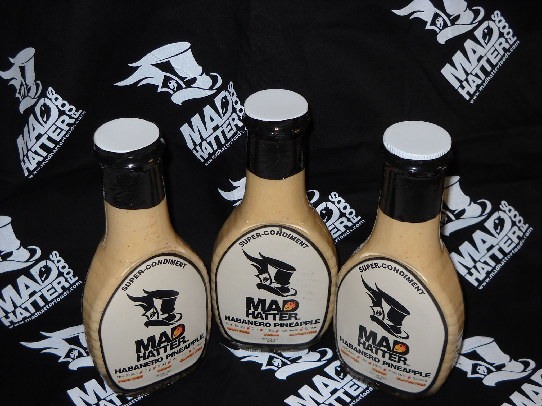 Gfvegan hot sauce from mad hatter foods httpwww