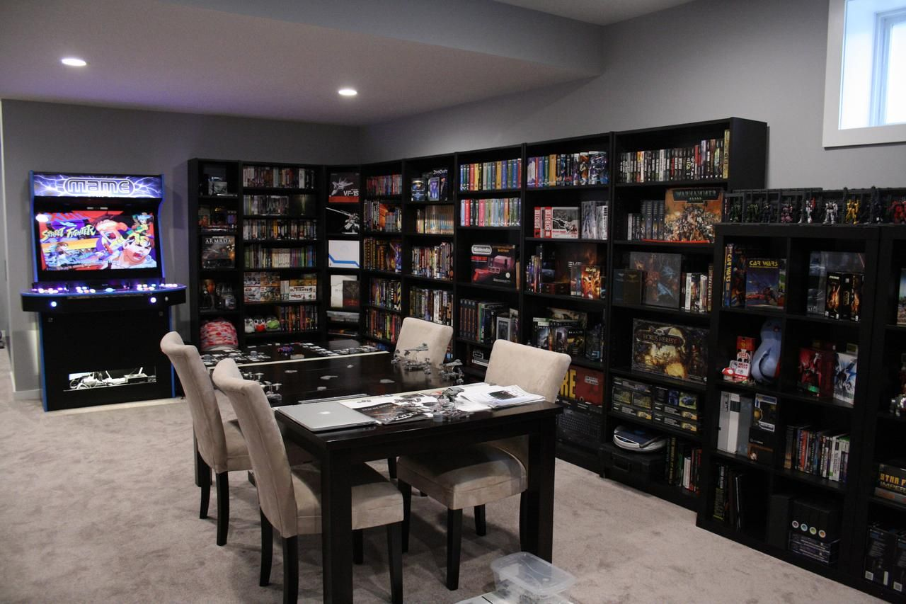 Phase 2 And 3 Done Home Game Room Design Game Room