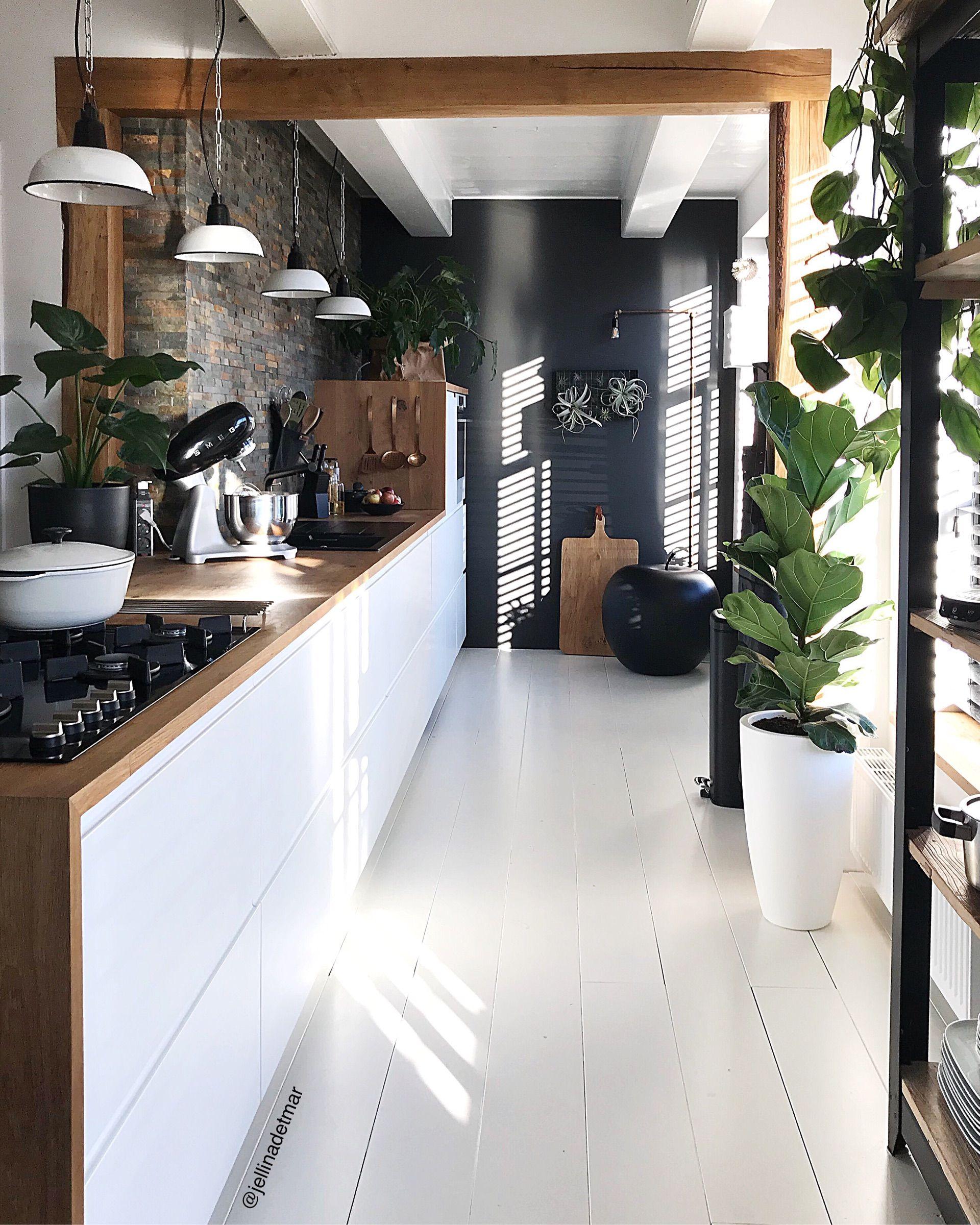 Küchengestaltung im europäischen stil keuken  binnenkijken bij jellinadetmar  pinterest  cocinas casas