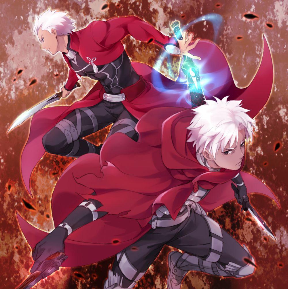 Fate - Archer (Fate/Stay Night) and Assassin (Fate/Grand