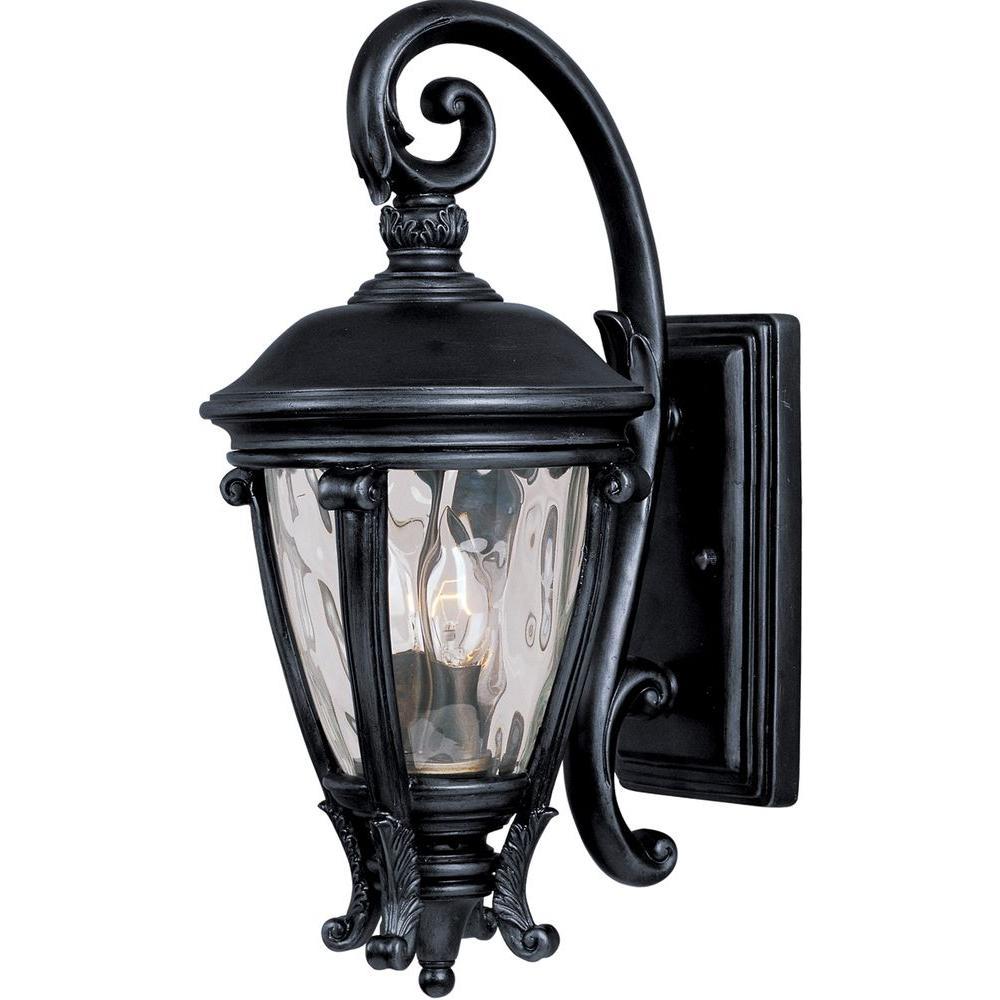 Maxim Lighting Camden Vivex 2 Light Black Outdoor Wall Mount