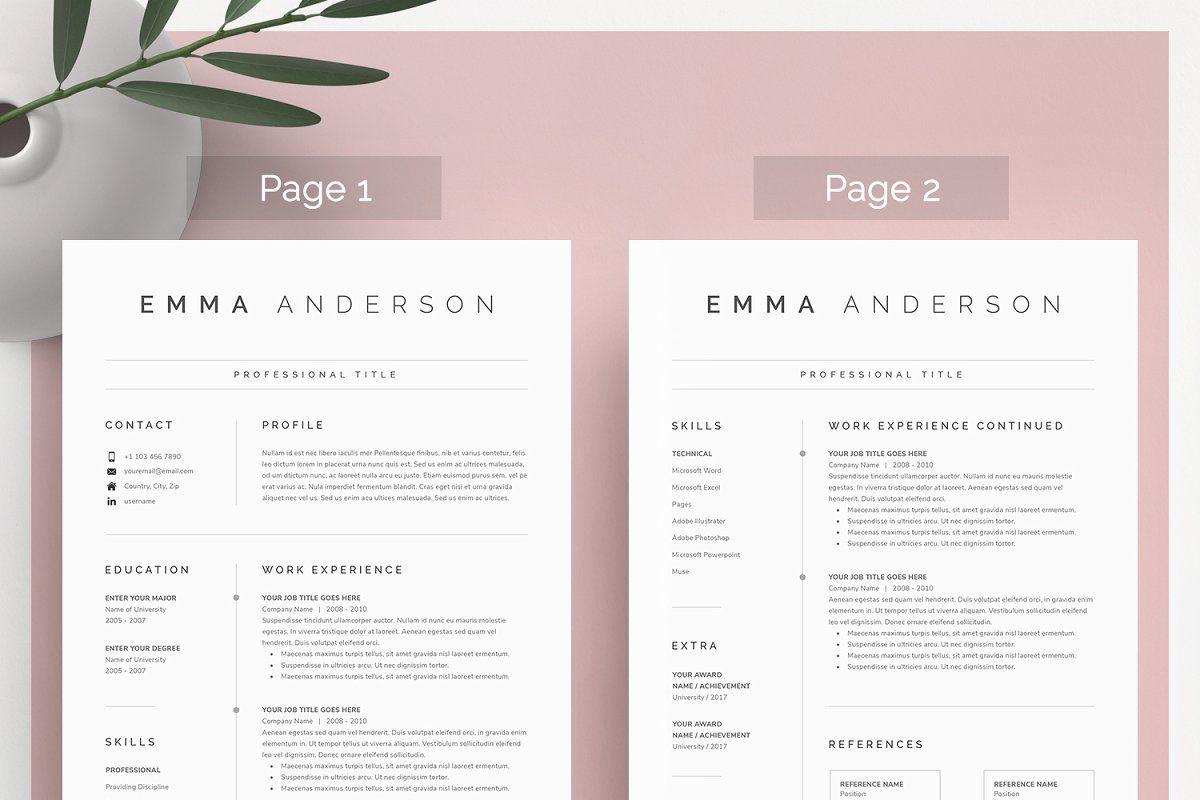Word Resume & Cover Letter | RESUME | Cover letter for