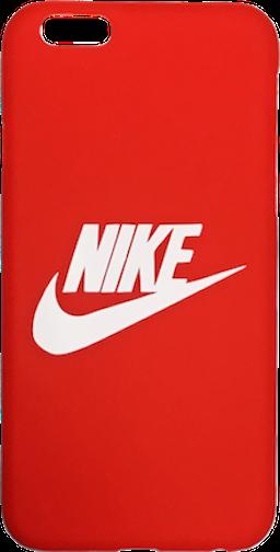 "Nike Red White ""Swoosh Logo"" Hard Plastic iPhone 6/6s"