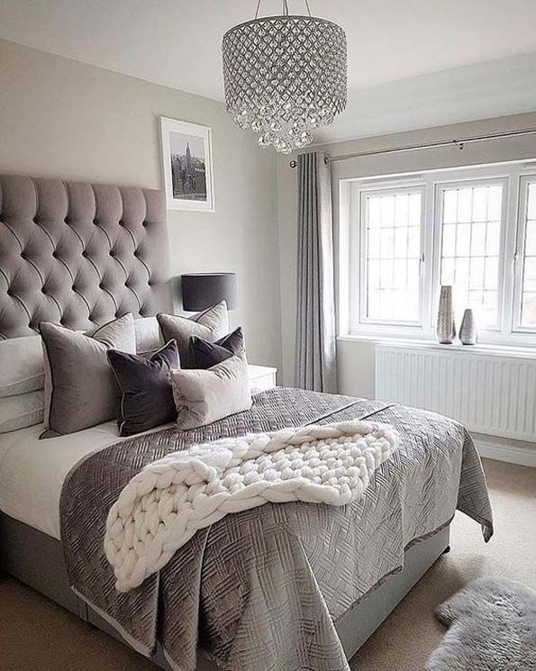 Classy And Elegant Bedroom Design 2019