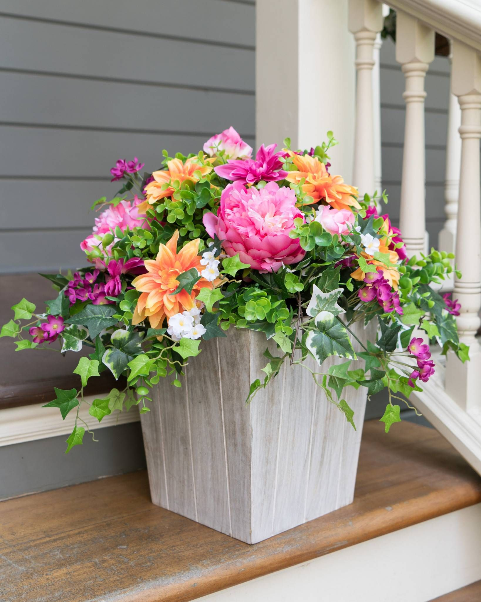 Outdoor Radiant Peony Artificial Flower Wreaths Balsam Hill In 2020 Artificial Plants Decor Artificial Flower Arrangements Artificial Plants Outdoor
