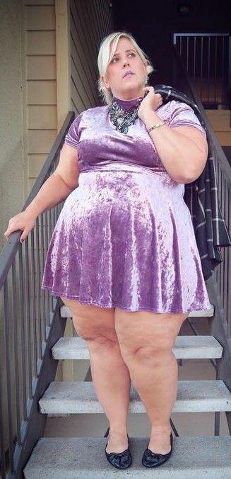 Chubby Ladies Fat Women Sweet Dress Beautiful Curves Ssbbw Well Dressed