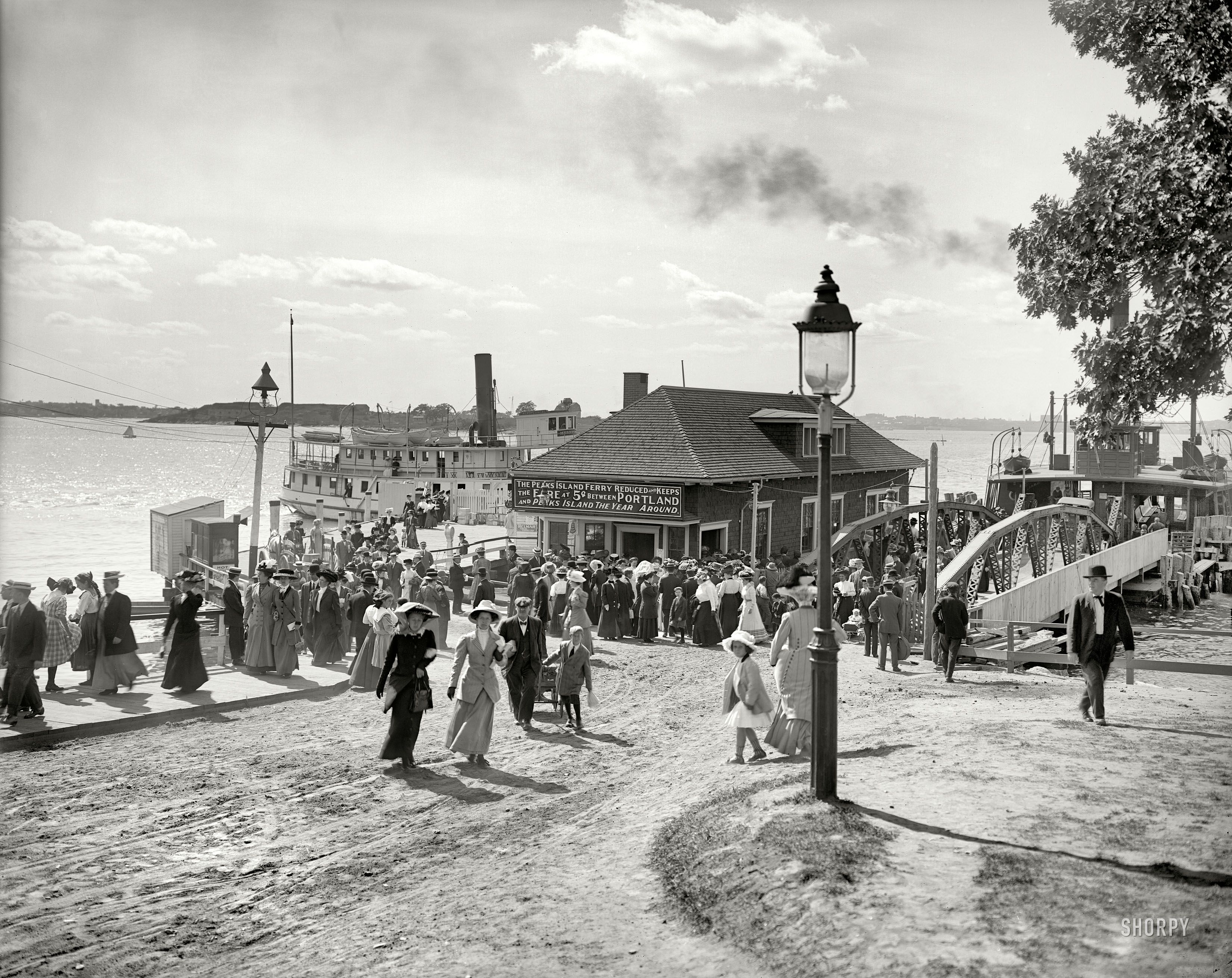 Forest city landing portland maine circa 1910 forest