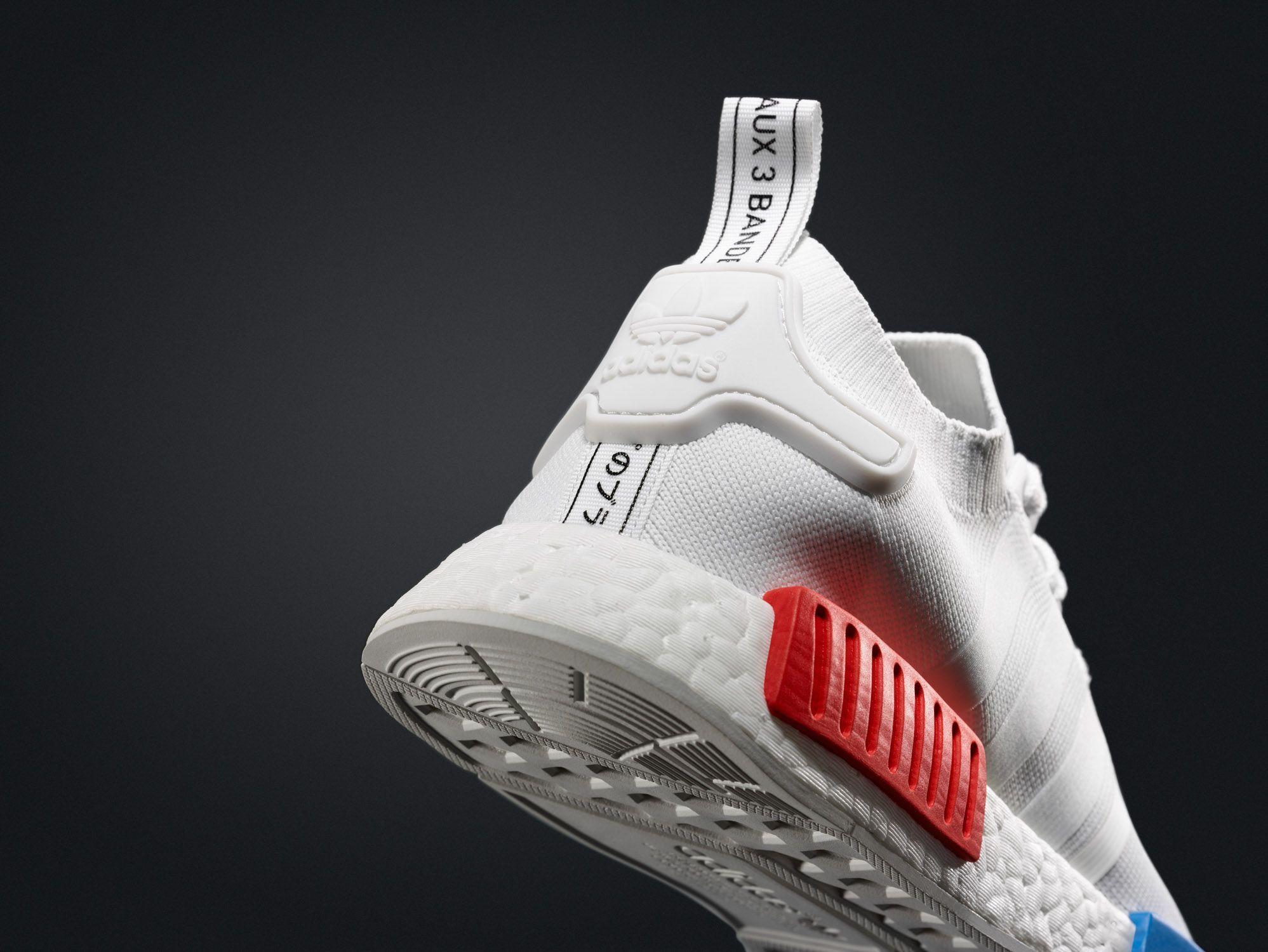75ff27d47ea adidas NMD Primeknit – White OG